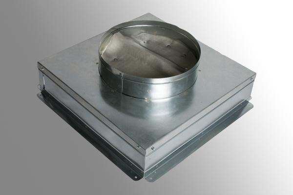Ceiling Radiation Damper Boot   Nakedsnakepress.com