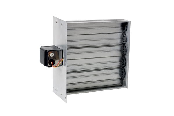 Miami Tech Inc  | Rectangular Motorized Zone Damper