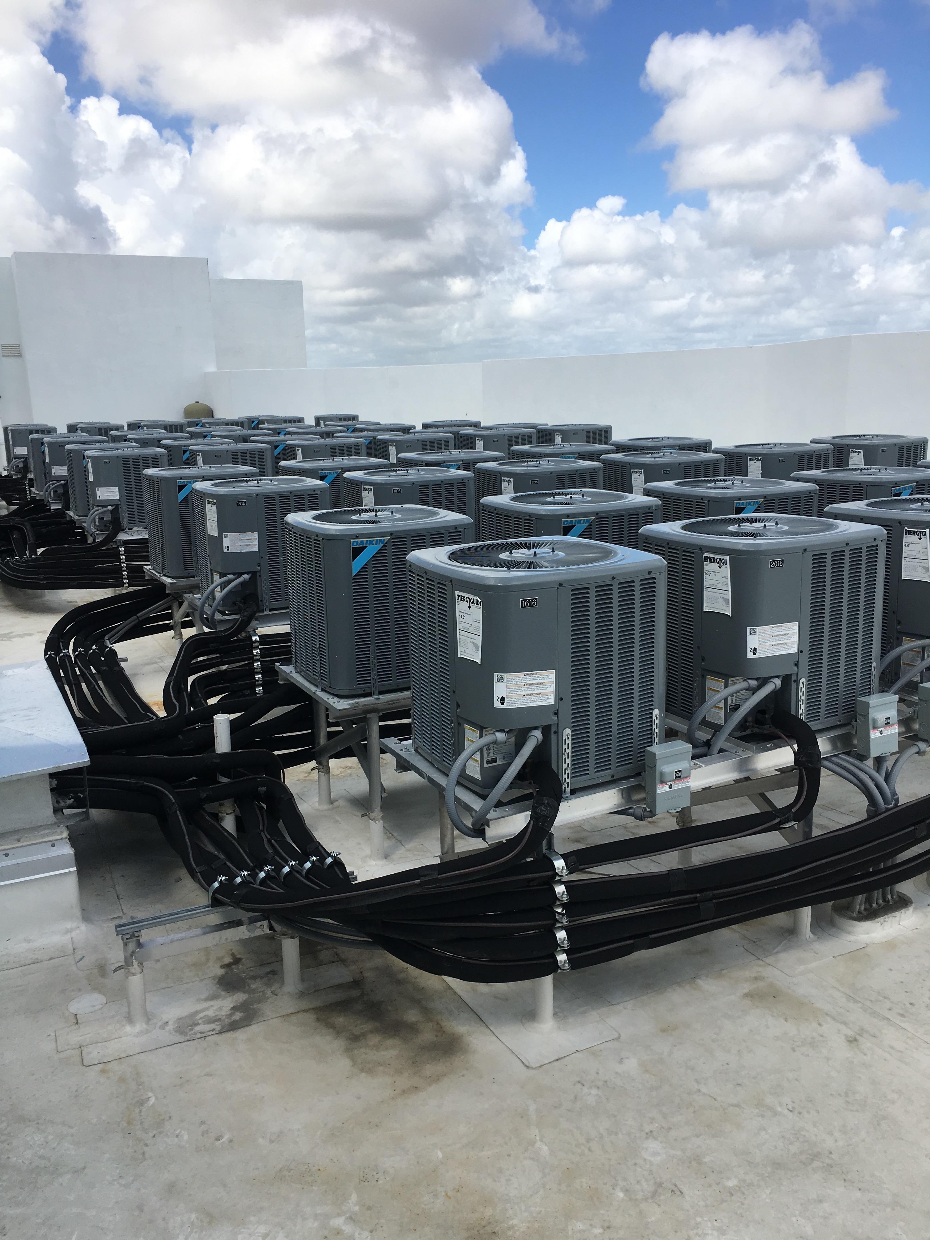 Miami Tech Inc Condenser Stands